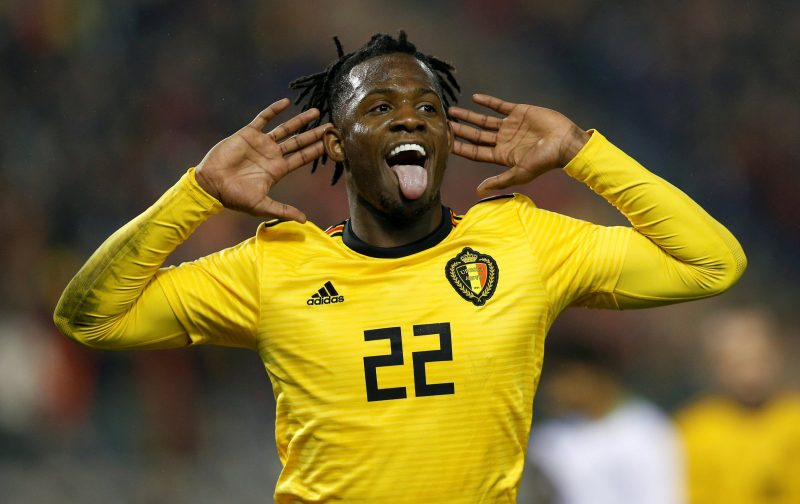 Potential boost for the injured Michy Batshuayi