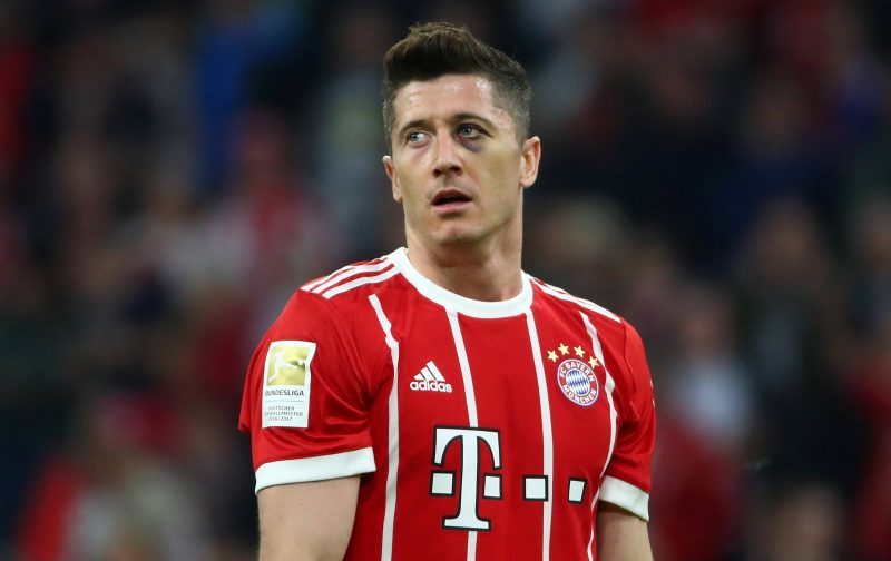 Chelsea linked with a move for Robert Lewandowski
