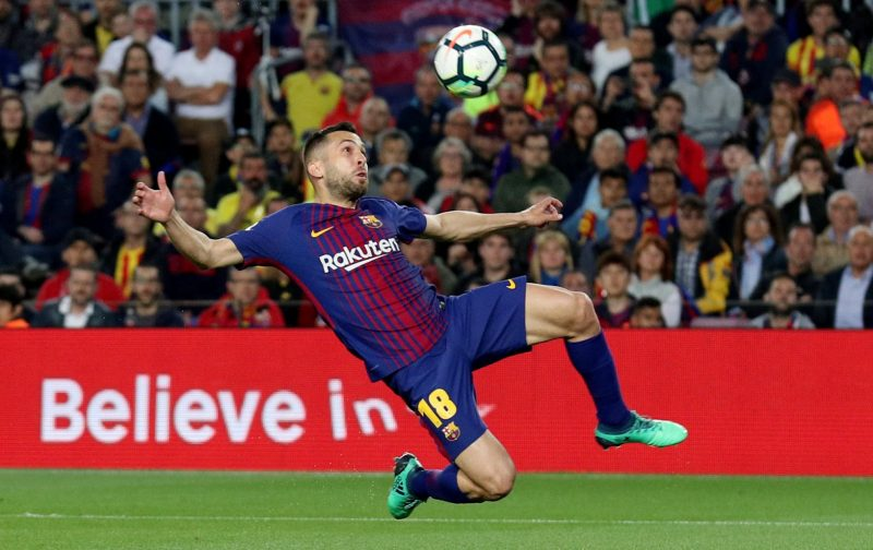 Chelsea and Manchester United interested in Barcelona's Jordi Alba