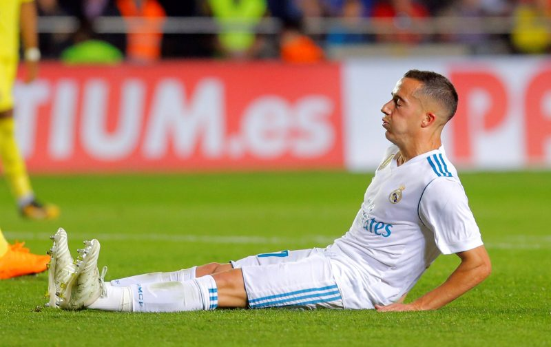 Chelsea interested in Real Madrid's Lucas Vazquez