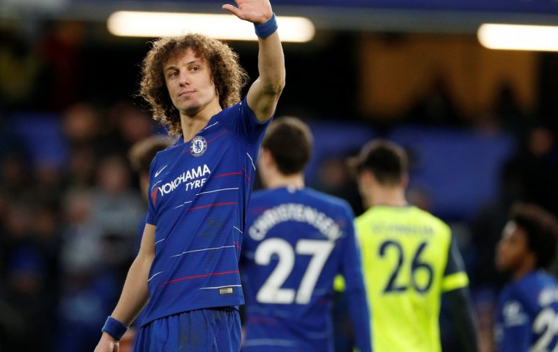 Why did David Luiz leave Chelsea for Arsenal?