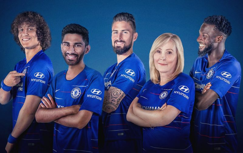 Hyundai and Chelsea FC heroes 'Give Cancer a Kicking' with drone target challenge for Stand Up To Cancer