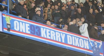 A Banner for Kerry Dixon