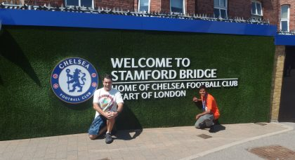 From Adelaide to Wembley (via Stamford Bridge)