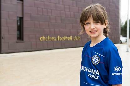 Young Chelsea fan given ultimate football experience